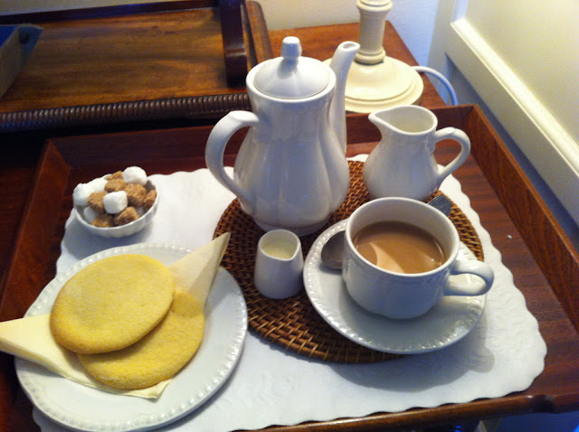 British often have their tea with pastries