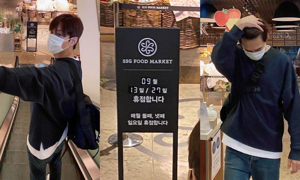 이민호, Instagram에 최근 불운을 코믹하게 기록하다 Lee Min Ho takes to his Instagram to comically document some recent bad luck
