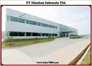 Lowongan Kerja Operator Produks PT Mandom Indonesia Tbk Juli 2019 Terbaru
