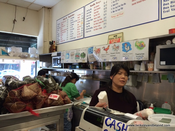 Cam Huong Cafe in Chinatown Oakland, California