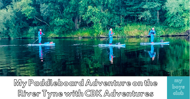 My Paddleboarding Adventure on the River Tyne with CBK Adventures (AD/Press Trip)