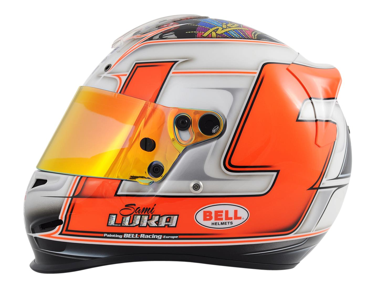 9a501872 Racing Helmets Garage: Bell RS3 Pro S.Luka 2011 by Bell Racing Europe