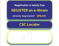 Register on e-shram