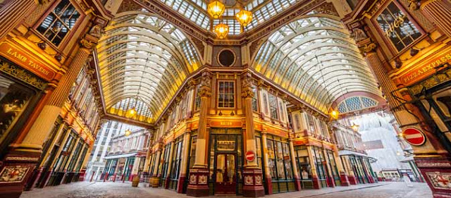 Leadenhall Market Harry Potter Places to visit