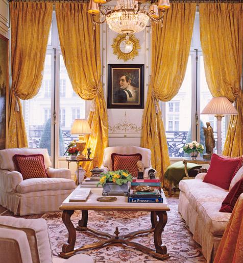 New Home Interior Design: Chic Paris Apartments