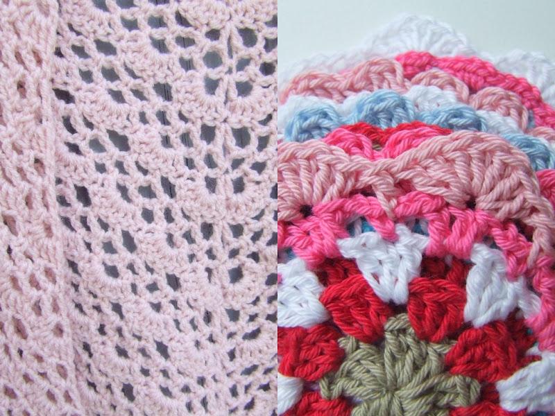 Bekend Haken en meer: Zomerse omslagdoek en zomerse bloemen coasters BB72