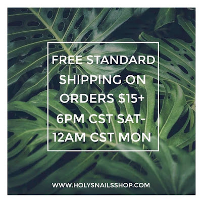Free Shipping at #HolySnails This Weekend!