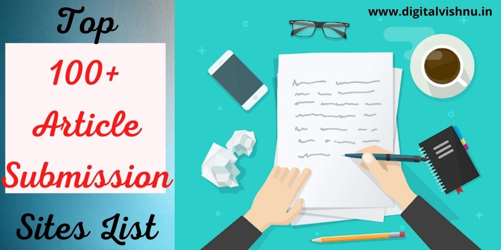 Top 100 Article Submission Sites List