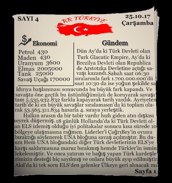 RR Türkiye Gazetesi 25.10.2017