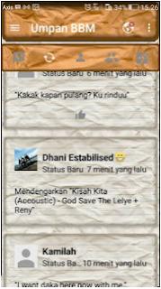 Download BBM Kimochi Kertas Lungset V3.2.0.6 Apk Terbaru
