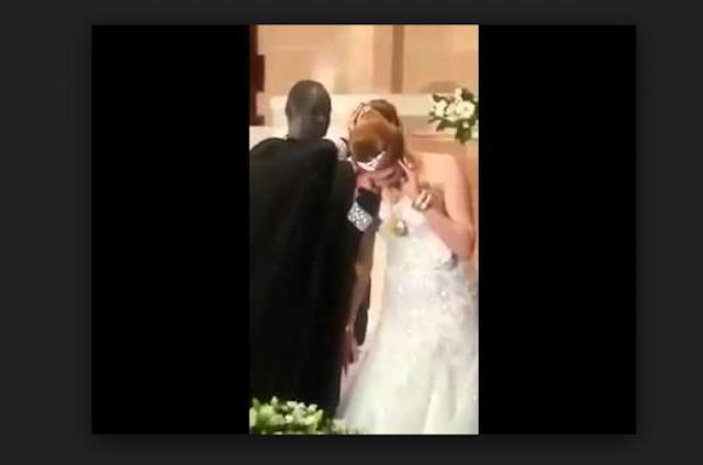 حفل زفاف أجمل جميلات لبنان على شاب من دولة جنوب السودان ..رغم معارضة الكثير الا ان الحب كان اقوى