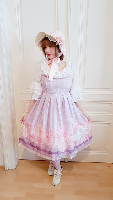 lolita fashion, pastel, kawaii, japanese fashion, jfashion, cute, pastel, bonnet, cheval de bois, bodyline, auris lothol