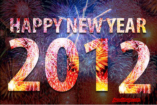 2012 Happy New Year Mobile and PC Wallpapers and Backgrounds