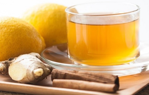 Method of action of ginger and cinnamon drink for slimming