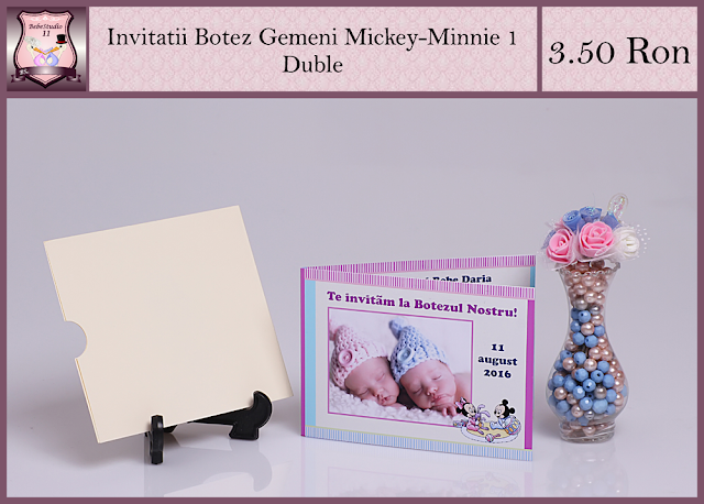 set botez gemeni mickey minnie