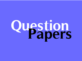 Model Question Paper for English Paper I and II for Std  12