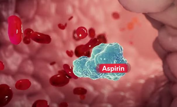 Aspirin is helpful in the treatment of corona patients