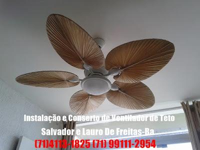 Ventilador de teto fazendo muito barulho como resolver,atendemos em Salvador-BA
