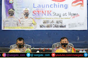 Polres Parepare Gelar Launching STNK Stay at Home di Gedung Baruga Prathista