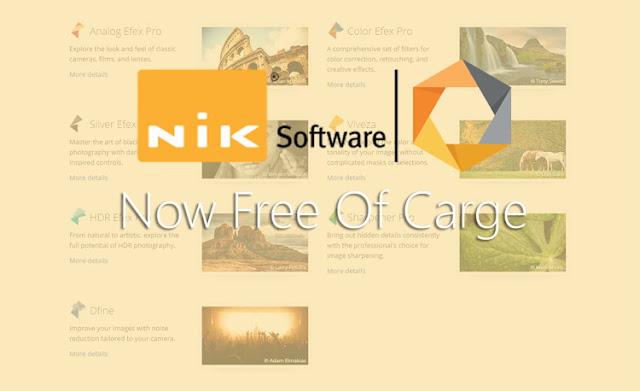 NIK Software Collection Sudah Digratiskan Oleh Google