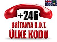+246 Britanya Hint Okyanusu Toprakları ülke telefon kodu
