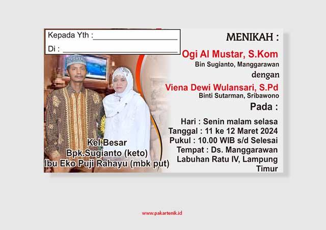 Download Keplek Tonjokan atau Keplek Punjungan Undangan, pernikahan, sunatan