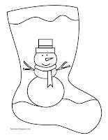 bota muñeco de nieve