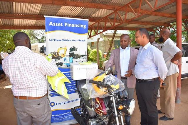 FCB donated Motorbikes to GAWASCO
