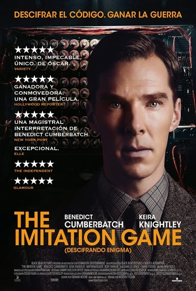 Póster: The Imitation Game: Descifrando Enigma (2014)