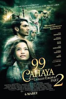 Selain mengungkap diam-diam sejarah perkembangan Islam di potongan Eropa lainnya Download Film 99 Cahaya di Langit Eropa Part 2 (2014) DVDRip Full Movie