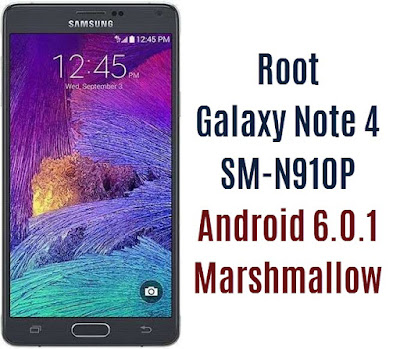 Root Galaxy Note 4 SM-N910P