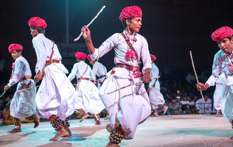 Gair Folk Dance Rajasthan