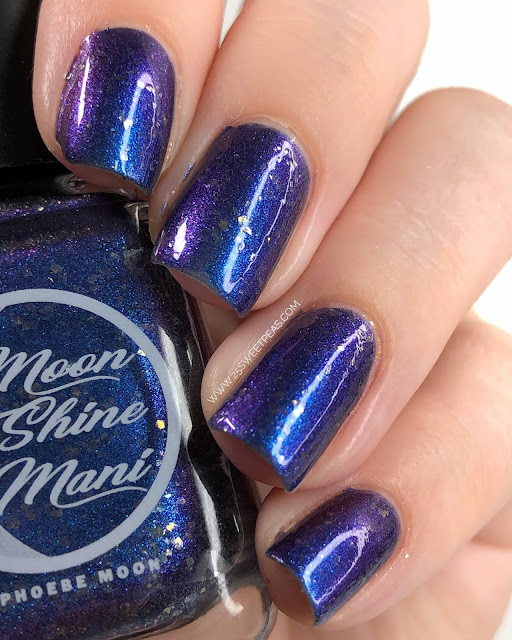 Moon Shine Mani My Resolution Was to Get More Attention 25 Sweetpeas