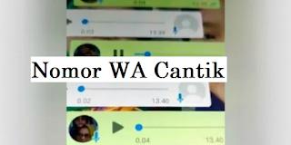 no wa cantik jomblo