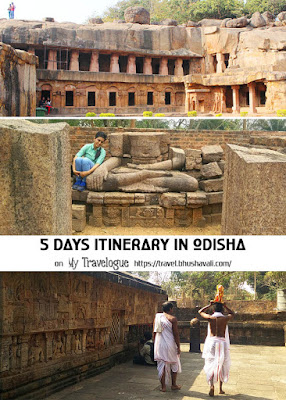 5 days itinerary in Odisha