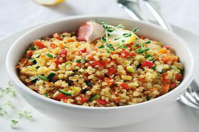Quinoa con verdure miste