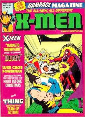 Rampage Monthly #30, X-Men vs Magneto