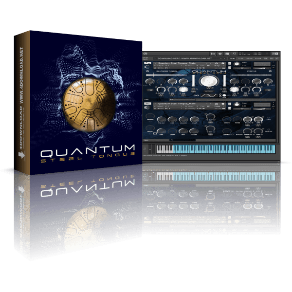 Quantum Steel Tongue KONTAKT Library