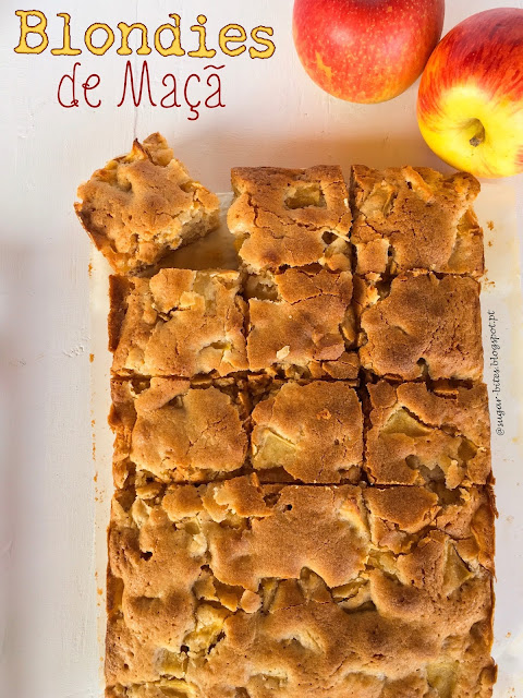 Blondies de Maçã
