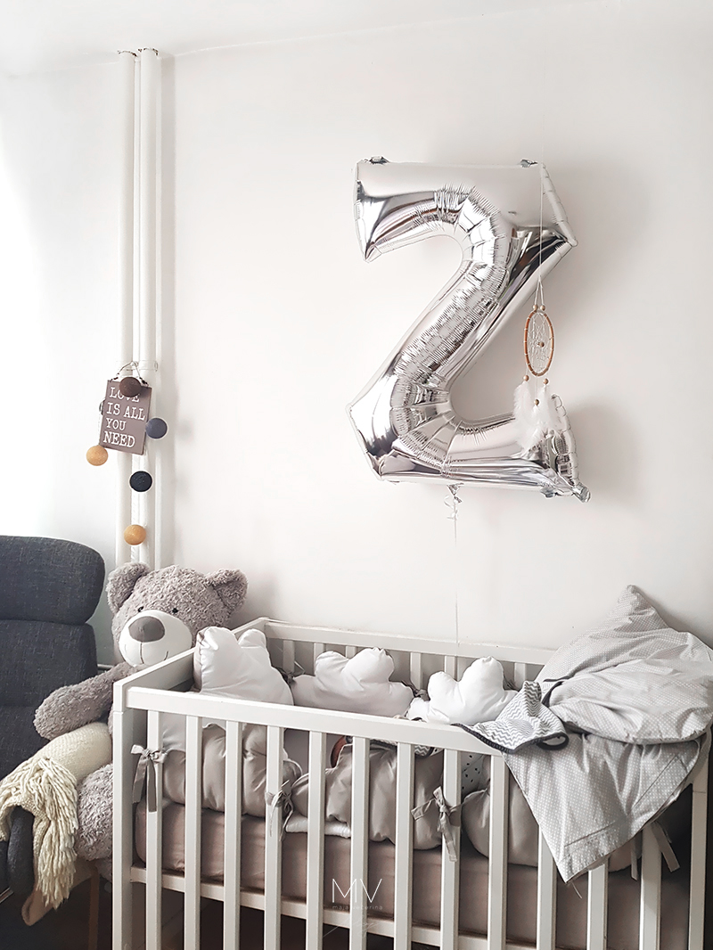 Nursery in the master bedroom project - MVblog