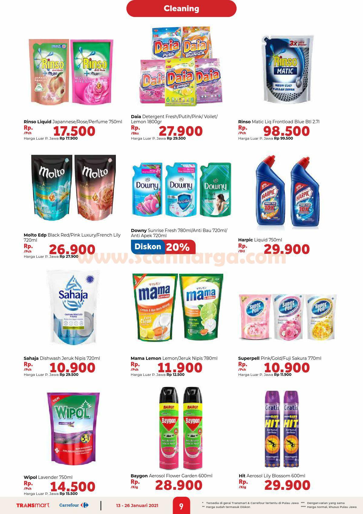 Katalog Promo Carrefour Transmart 13 - 26 Januari 2021 9