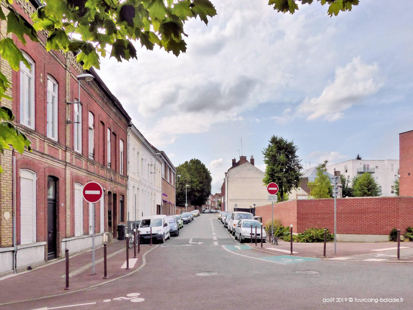 Fin de la rue Famelart, Tourcoing