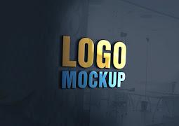 5 ملفات موك اب لعرض الشعارات Mockup Design Logo