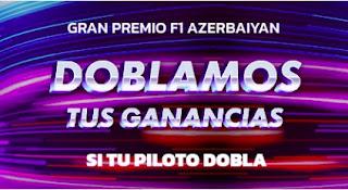 Mondobets promo F1 Azerbayan 6-6-2021