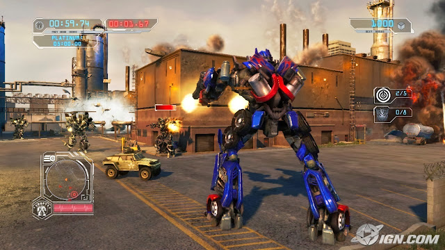 Transformers Revenge of the Fallen PC Full Version Screenshot 3