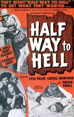 Poster for HALFWAY TO HELL, which Al Adamson co-directed with his father Victor!