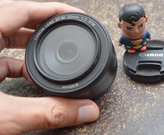 Lensa Fix 22mm F2 STM For Canon Bekas