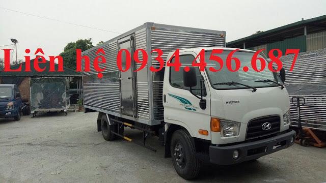 Hyundai HD110s thùng kín