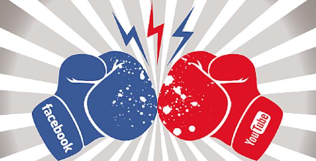 حرب بين فيسبوك و يوتوب لا نعلمها ! ففي اين تتمثل ؟
