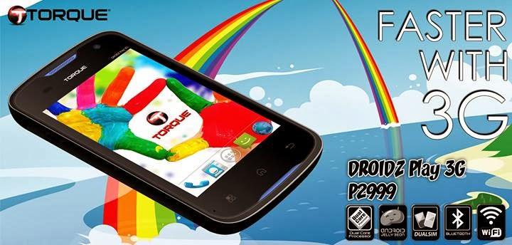 Torque DROIDZ Play 3G